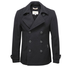 Superdry €170.52 - Commodity slim pea-coat http://bit.ly/1Gl1gW4