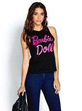 Forever 21 €13.75 - Barbie Doll Muscle Tee http://bit.ly/1tR3vUB