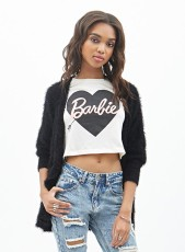 Forever 21 €12.45 - Barbie Heart Graphic Tee http://bit.ly/1xol31R