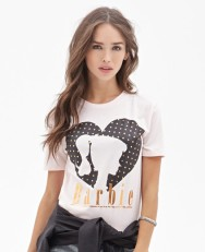 Forever 21 €12.45 - Metallic Barbie Tee http://bit.ly/1167i9M