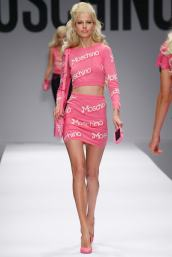 Moschino €275 - Intarsia cotton mini skirt http://bit.ly/1v9gxnG €