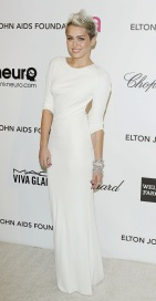 2013 Elton John AIDS Foundation Oscars Party - wearing Azzaro