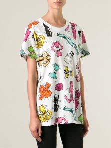 Moschino €243 - Barbie accessories print T-shirt http://bit.ly/1ukwoxL