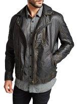Jack & Jones €219.95 - Classic Biker Leather Jacket http://bit.ly/1xbo6co