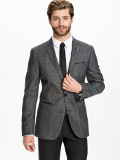 River Island €159.95 - Hector Window Check Jacket http://bit.ly/1xG2fuW