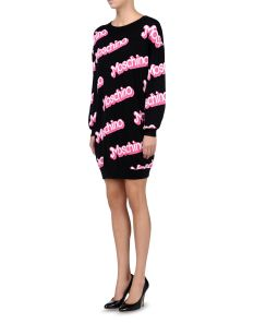 Moschino €574 - Cotton Jumper Dress http://bit.ly/1zoKONc