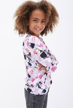 Forever 21 €14.95 - Barbie Print Graphic Pullover (Kids) http://bit.ly/1ukLQKl