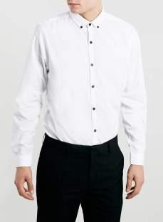 Topman €26 - Contrast Button Down Longsleeve Shirt http://bit.ly/1uVKEx1