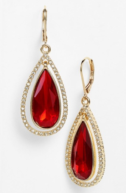 Anne Klein €22.12 - Teardrop Earrings http://bit.ly/1pD8Eo3