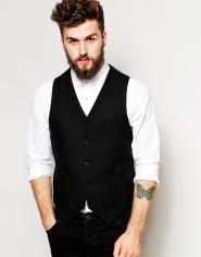 ASOS €49.76 - Slim Fit Waistcoat In 100% Wool http://bit.ly/1yWvmqK