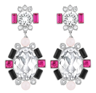 Swarovski Blanche Pierced Earrings