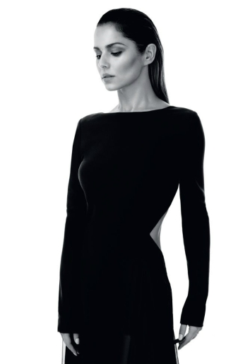 Cheryl wears dress by Elie Saab