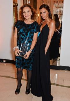 Diane von Fürstenberg & Victoria Beckham