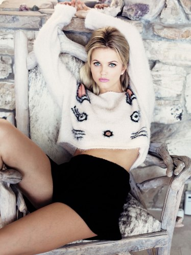 Wildfox €242.14 - Fuzzy Baby Cropped Billy Sweater http://bit.ly/1xA8EYC