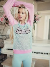 Wildfox €130 - Barbie Warm Up Sweater http://bit.ly/1CYofoc