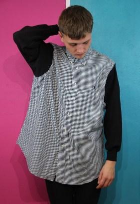 Tola Vintage €52.90 - Tola Vintage Reworked Ralph Lauren Shirt http://bit.ly/1viFOKj