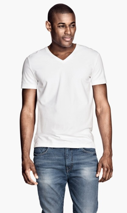 H&M €10 - Stretch T-shirt http://bit.ly/1F4hAVl