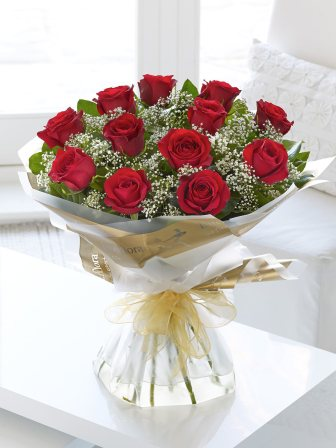 Interflora €52 - Heavenly Red Rose Bouquet http://bit.ly/1yOPdIx