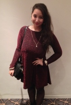 Wearing Soho Market, Michael Kors, Aldo, Topshop, Madison and vintage gold