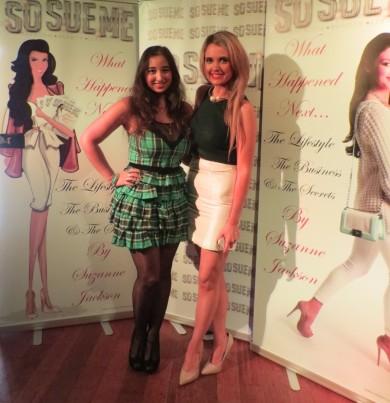 Myself & Lorna of Fashion Boss