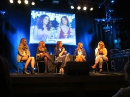 (L-R) Aisling Keenan, Katie Tsouros, Jennie McGinn, Emma Trainor, Louise Dunne