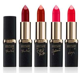 L'Oréal Paris €10.49 - Color Riche Collection Exclusive Pure Reds http://bit.ly/1y0kkiK