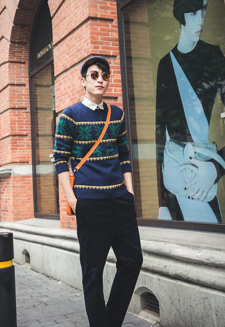Mr. Zero @ Yes Style €20.50 - Nordic Pattern Sweater http://bit.ly/11gHJTn