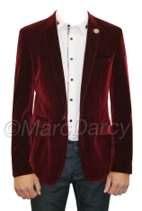 Marc Darcy €81.29 - Velvet Wine Burgundy Blazer http://bit.ly/1x3whUd