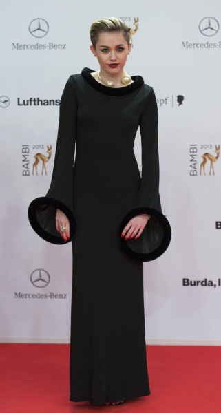 2013 Bambi Music Awards - wearing Vintage Jean Paul Gaultier