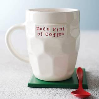 Gilbert & Stone Ceramics €29.62 - Personalised Handmade Pint Style Mug http://bit.ly/11gzFCb