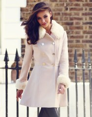 Lipsy €107 - Faux Fur Trim Princess Coat http://bit.ly/1u2J9Yu