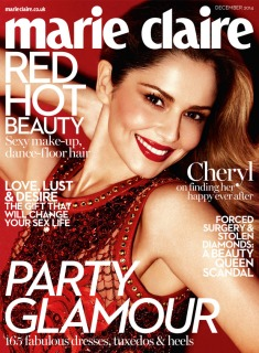 Cheryl Marie Claire December 2014
