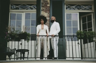 Image by Rog Walker Solange Knowles wedding