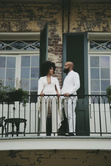 Image by Rog Walker Solange Knowles wedding