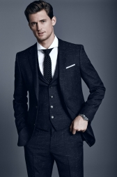 BOSS Hugo Boss €751.96 - Slim fit 3-piece suit Hattrick/Final WE http://bit.ly/1tkAMaX