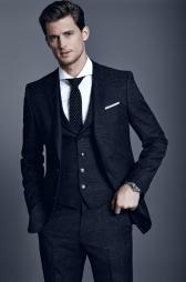 BOSS Hugo Boss €751.96 - Slim fit 3-piece suit Hattrick/Final WE http://bit.ly/1tkAMaX