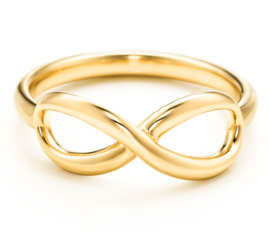 Tiffany €522.21 - Infinity ring in 18k gold http://bit.ly/12anZCs