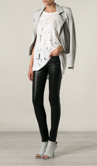 Citizens of Humanity €295 - Shiny Skinny Jeans http://bit.ly/1ye1nJs