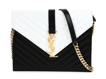 Saint Laurent € 1,626.90 - Monogramme chain shoulder bag http://bit.ly/1yb8fLd