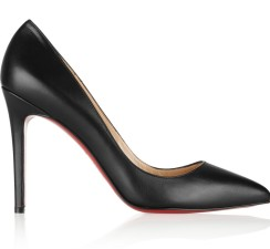Christian Louboutin €465 - Pigalle Leather http://bit.ly/1IuIgDd