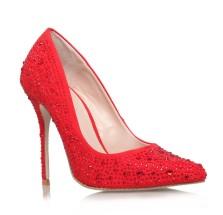 Carvela Kurt Geiger €150 - Red 'Gemini' Court http://bit.ly/1vT6UDf
