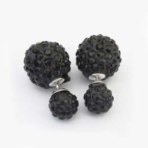 Glitz N Pieces €15 - Black Knight Earrings http://bit.ly/1w2UPz4