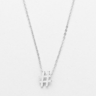 Glitz N Pieces €14 - Hashtag Necklace http://bit.ly/1G4LTeV