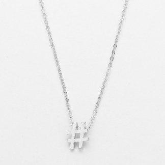 Glitz N Pieces €14 - Hashtag Necklace http://bit.ly/1G4LTeV