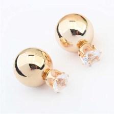Glitz N Pieces €14.50 - Honeytone Earrings http://bit.ly/1AMUhyP