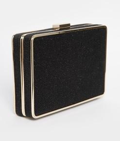 Oasis €40 - Cheng Glitter Box Clutch http://bit.ly/1zUJHHn