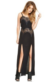 For Love & Lemons @ Dailylook €226.26 - Bourbon Lace Maxi Dress http://bit.ly/1sscRg8
