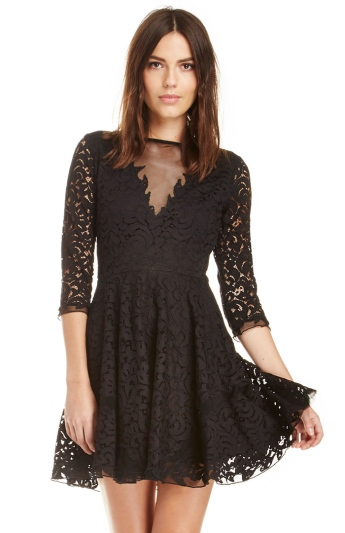 Saylor @ Dailylook €211.82 - Charlotte Crochet Lace Dress http://bit.ly/1yOJroQ