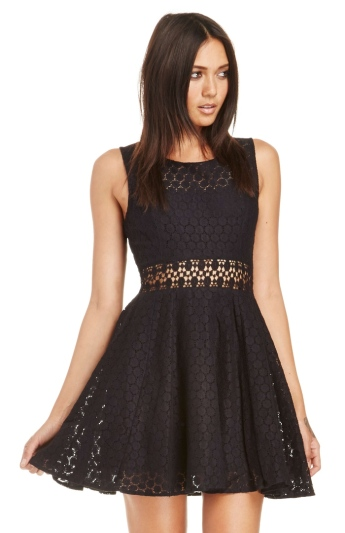 Raga X Dailylook €48.14 - Lace Fit and Flare Dress http://bit.ly/1Gnl4ok
