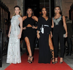 Little Mix: (L-R) Perrie Edwards, Jesy Nelson, Leigh-Anne Pinnock, Jade Thirlwall